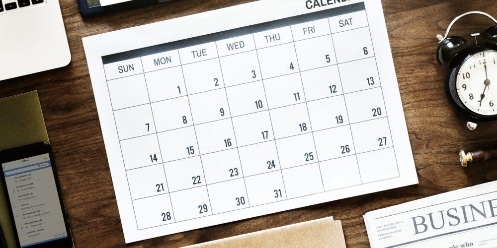 Kalendarz sprzedawcy na rok 2019 – Niemcy, Francja, Wielka Brytania